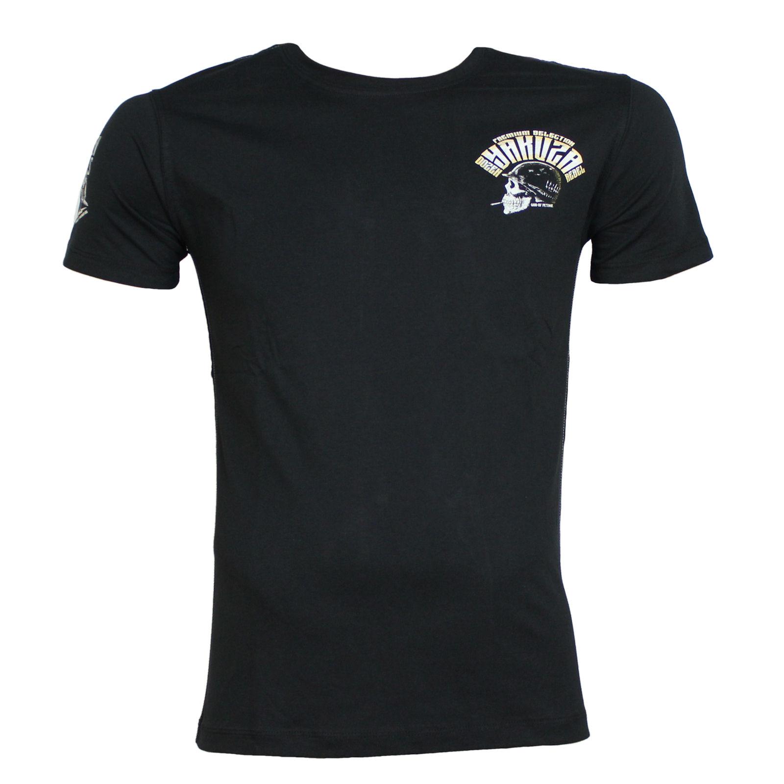 yakuza premium t shirt yps 2414 schwarz specials herren t. Black Bedroom Furniture Sets. Home Design Ideas