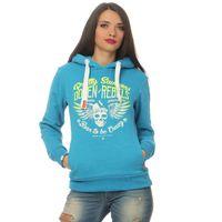 Yakuza Premium Damen Sweatshirt GH 2440 hellblau