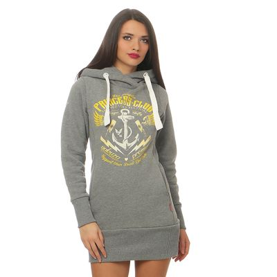 Yakuza Premium Women Long Sweatshirt GH 2443 grey – Bild 1