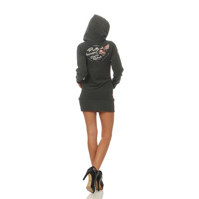 Yakuza Premium Damen Long Sweatshirt GH 2443 anthra – Bild 4