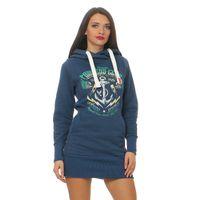 Yakuza Premium Women Long Sweatshirt GH 2443 blue 001