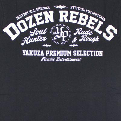Yakuza Premium T-Shirt YPS 2410 schwarz – Bild 4