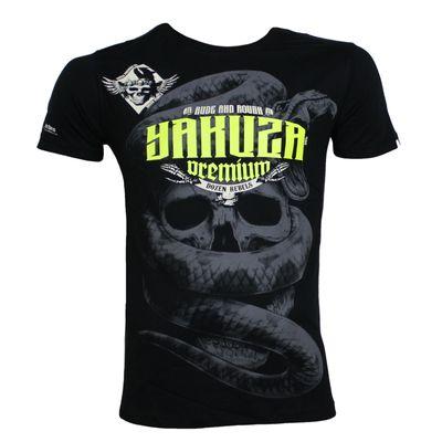 Yakuza Premium T-Shirt YPS 2404 black – Bild 1