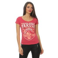 Yakuza Premium women t-shirt GS 2431red