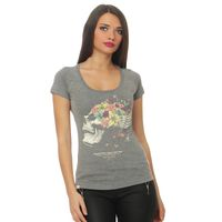 Yakuza Premium women t-shirt GS 2432 grey 001