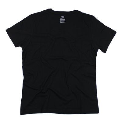 Alpha Industries T-Shirt STAR T black – Bild 2