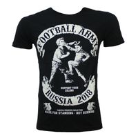 Yakuza Premium t-shirt football army Russia in black 001