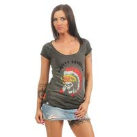 Yakuza Premium women t-shirt GS 2439 black washed