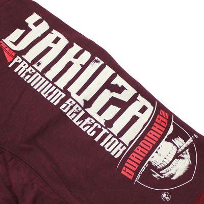 Yakuza Premium short sweatpants YPJO 2428 burgundy – Bild 4