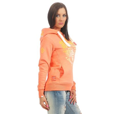 Yakuza Premium Damen Sweatshirt GH 2440 coral – Bild 3
