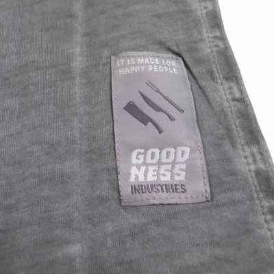 Goodness Industries Herren T-Shirt Jack grau – Bild 5