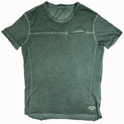 Goodness Industries Herren T-Shirt Thomsen olive – Bild 1