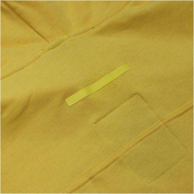 Goodness Industries Herren Sweatshirt Rocky 003 gelb – Bild 4