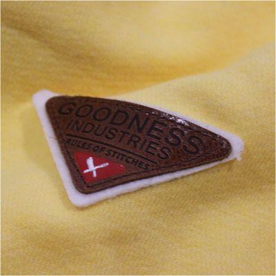 Goodness Industries Herren Sweatshirt Rocky 003 gelb – Bild 5