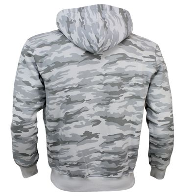 Alpha Industries Sweatshirt FOAM PRINT HOODY white camo – Bild 2