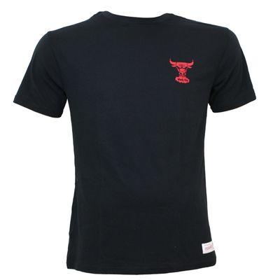 M&N Herren Basketball T-Shirt Chicago Bulls schwarz – Bild 1