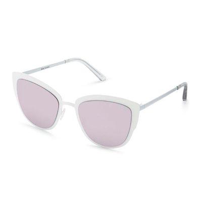 Quay Australia Damen Sonnenbrille SUPER GIRL white / lil – Bild 3
