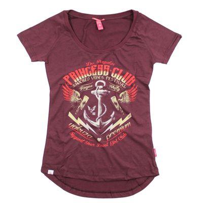 Yakuza Premium women t-shirt GS 2437 burgundy – Bild 1