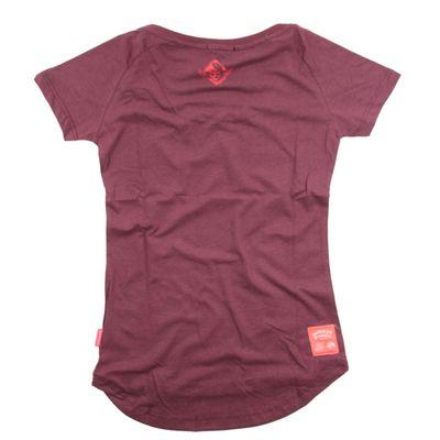 Yakuza Premium women t-shirt GS 2437 burgundy – Bild 2
