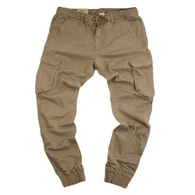 REELL Jeans Herren Reflex Rib Cargo Pant Hose dark sand LONG – Bild 1