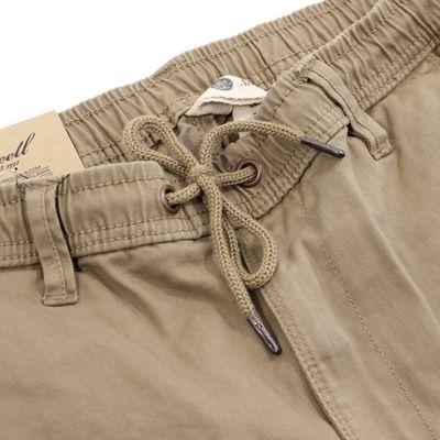 REELL Jeans Herren Reflex Rib Cargo Pant Hose dark sand LONG – Bild 2