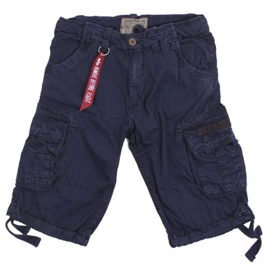 Alpha Industries Jet Short rep blue Cargo Shorts – Bild 1
