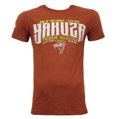 Yakuza Premium T-Shirt YPS 2507 braun – Bild 2