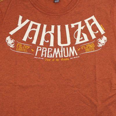Yakuza Premium T-Shirt YPS 2506 brown – Bild 4