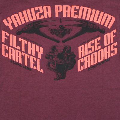 Yakuza Premium T-Shirt YPS 2501 burgundy – Bild 4