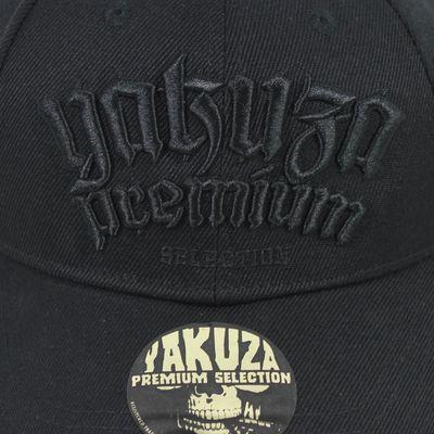 Yakuza Premium basecap 2580 black snapback OneSize – Bild 2