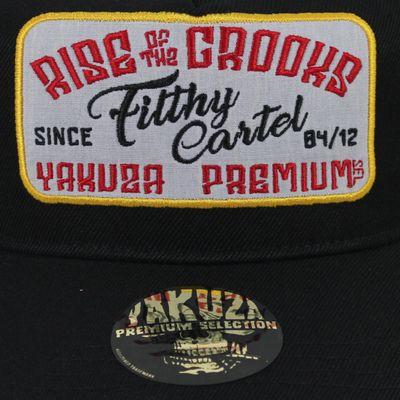 Yakuza Premium Trucker Cap 2582 schwarz Snapback – Bild 2