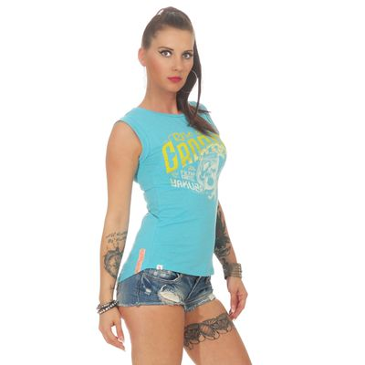 Yakuza Premium women shirt GS 2537 light blue – Bild 3