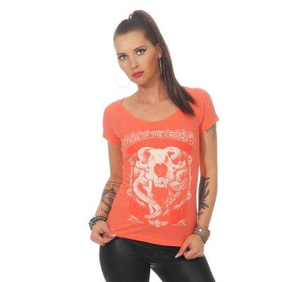 Yakuza Premium women t-shirt GS 2530 coral – Bild 3