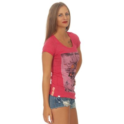 Yakuza Premium women t-shirt GS 2534 red – Bild 3