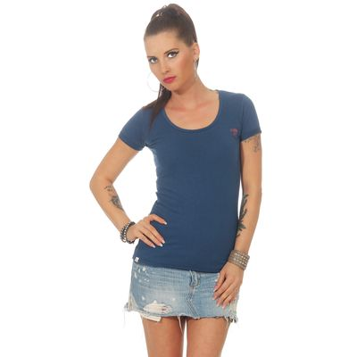 Yakuza Premium women t-shirt GS 2533 blue – Bild 2