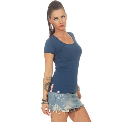 Yakuza Premium women t-shirt GS 2533 blue – Bild 3