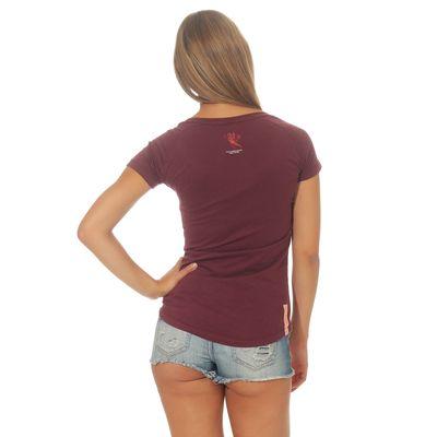 Yakuza Premium women t-shirt GS 2532 burgundy – Bild 2