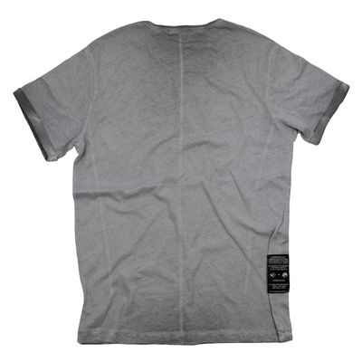 Goodness Industries Herren T-Shirt GN 203 grey washed – Bild 2