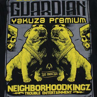 Yakuza Premium Sweatjacke YPHZ 2526 C schwarz – Bild 3