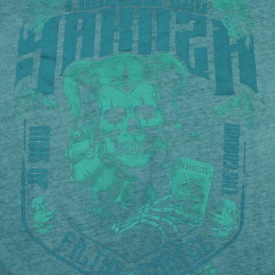 Yakuza Premium longsleeve shirt vintage 306 green washed – Bild 3