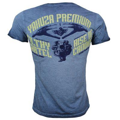 Yakuza Premium T-Shirt VINTAGE 302 blue washed – Bild 2