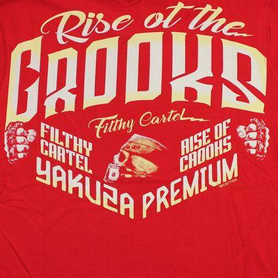 Yakuza Premium T-Shirt YPS 2508 rot – Bild 4