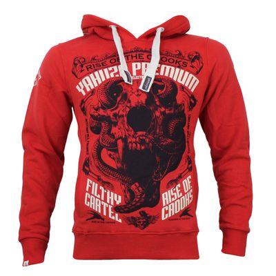 Yakuza Premium Sweatshirt YPH 2521 rot – Bild 1