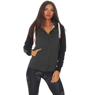 Yakuza Premium women sweatjacket GHZ 2543 anthra – Bild 1