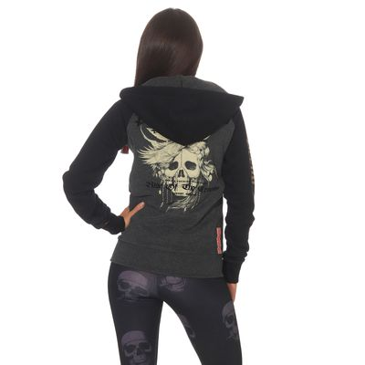 Yakuza Premium women sweatjacket GHZ 2543 anthra – Bild 2