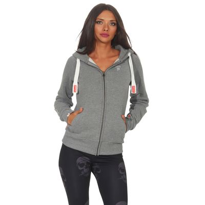 Yakuza Premium women sweatjacket GHZ 2543 grey – Bild 1