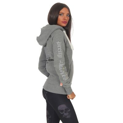 Yakuza Premium women sweatjacket GHZ 2543 grey – Bild 3