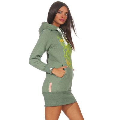 Yakuza Premium women long sweatshirt GH 2542 green – Bild 3