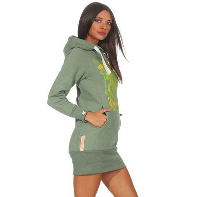 Yakuza Premium Damen Long Sweatshirt GH 2542 grün – Bild 3
