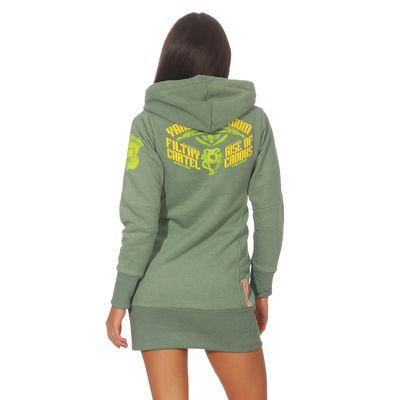 Yakuza Premium Damen Long Sweatshirt GH 2542 grün – Bild 2